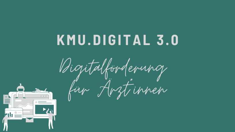 KMU Digitalförderung für Ärzte